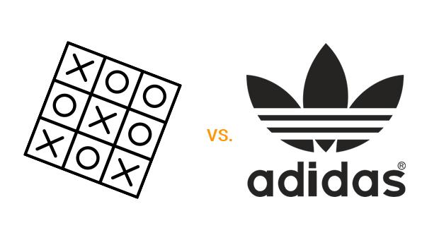 creare logo adidas