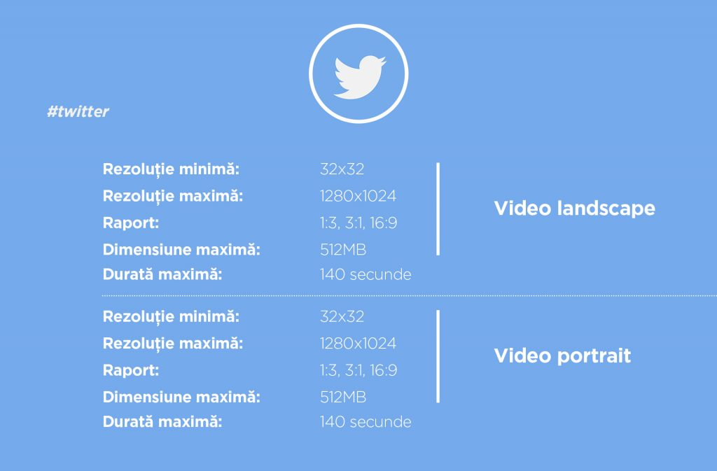 dimensiuni video twitter